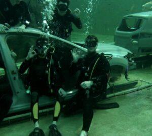 todi onderwater wrak